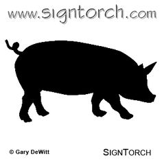Pig Clipart | SignTorch Show Vector Art Pig 12a _ eBay friendly