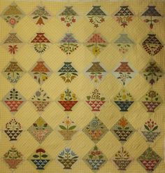 Sweet William by Patchwork on Stonleigh, Australia.  Adapted from a quilt in the book, A Treasury of American Quilts.