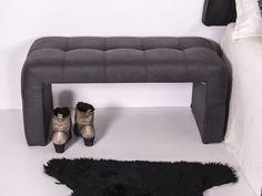 Banquette garnie en tissu. Mod. LYON Lyon, Banquettes, Decor, Fabric, Booth Seating, Banquet, Decorating, Dekoration, Deco