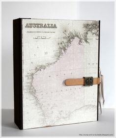 Die liebe Bettina ist heute für 3 Monate nach Australien gestartet ... Damit sie auch alles festhalten kann, habe ich ihr ein Tagebuch gemac...