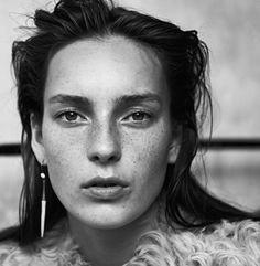 """The Intuitive Designer"" (Industrie Magazine #8 S/S 2015) | Model: Julia Bergshoeff. Photographer: Lachlan Bailey. Fashion Editor: Géraldine Saglio. Hair: Christian Eberhard. Make-up: Sally Branka"
