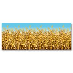 Cornstalks Backdrop 30ft. Party Supplies Canada - Open A Party