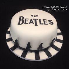 Bolo com tema Beatles !