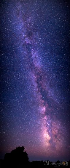 ~~Galactic (vert) Orama And A Perseid ~ Milky Way by Stavros Lambrakis~~