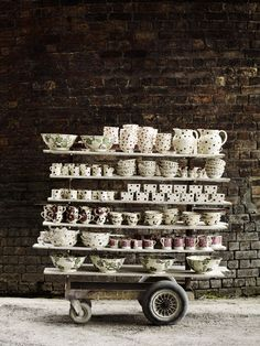 Andrew Montgomery Photography some day i wish for lots of pretty tea cups and coffee mugs :)