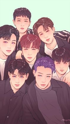 Kim Jinhwan, Chanwoo Ikon, Got7 Fanart, Kpop Fanart, Yg Entertainment, Bobby Kpop, Yg Groups, Superman Baby, Ikon Wallpaper