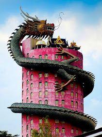 Thailand Wat Sam Phran