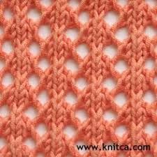 Resultado de imagem para different lace knitting stitches