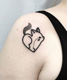 35 Cute Tattoo Designs by Hugo Tattooer - Ninja Cosmico Mini Tattoos, Body Art Tattoos, Tattoo Drawings, Small Tattoos, Tatoos, Couple Tattoos, Tattoos For Guys, Tattoos For Women, Pretty Tattoos