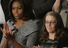 WASHINGTON DC - The womanwhose story of economic recovery was showcased by President Barack Obama in his State of the Union address is a former Democratic campaign staffer and has been used by Oba...