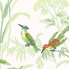Wallpaper Thibaut AUGUSTINE, White, T6942, Collection Historic Homes 7 from Thibaut