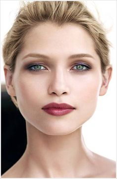 Clarins Rouge Eclat Collection for Spring 2013. Haven't bought any Clarins in years, but I love the makeup in this ad.