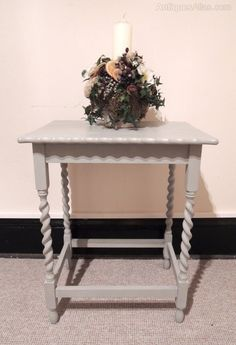 Vintage and Retro Occasional Tables, Painted Occasional Table. Conservatory Furniture, Occasional Tables, Storage Cabinets, Furniture Makeover, Entryway Tables, Decor Ideas, Antiques, Vintage, Home Decor