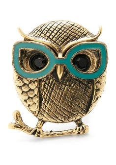 Owls and nerd glasses together! Whoo couldn't love this?