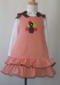 Thanksgiving Clothing Girlstoddler Babies Baby By Handsmocked   Childrens Holidays Thanksgiving Baby Kids
