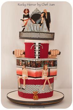 Rocky Horror Show cake.
