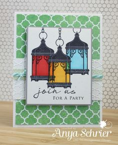 Little Lanterns | Waltzingmouse Stamps