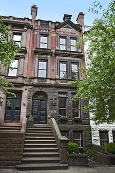 1000 images about new york brownstones on pinterest for Upper west side townhouse for sale