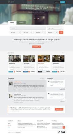 Real Estate - Wordpress Theme by bestwebsoft on @creativemarket