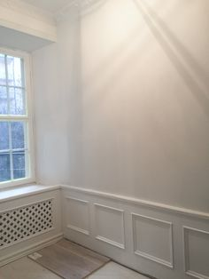 Diy Home : Golvsockel + elementskydd ♥ - ListFender Diy Interior, Interior And Exterior, Interior Design, Beddinge, Herringbone Wall, Style Deco, Modern Kitchen Design, My Dream Home, Flooring