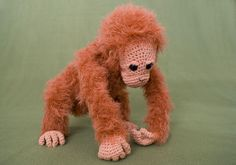 Picture of Crocheted Orangutan