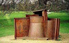 Anthony Caro Dream City (1996), Yorkshire Sculpture Park.