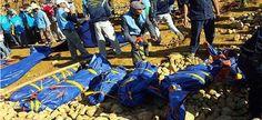 Deslizamento de terra em mina mata dezenas em Mianmar