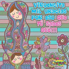 #Virgencita mil gracias por tu ayuda siempre !!!
