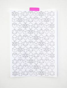 Printable Valentine's Day Gift Wrap by Mini-eco