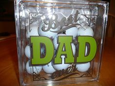 Great Father's Day present for those dad's that love golf.  http://sharonm.uppercaseliving.net