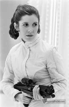 Star Wars: Episode V - The Empire Strikes Back publicity still of Carrie Fisher