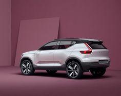 Volvo Concept 40.1 rear  - http://olschis-world.de/  #Volvo #Concept #V40