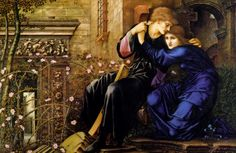 Edward Burne-Jones, Love Among the Ruins, 1894