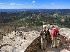 Finding Space in the Black Hills : by National Geographic Robert Reid  Hiking Harney Peak in South Dakota