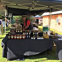Southern Highlands NSW Mittagong Markets jam stall