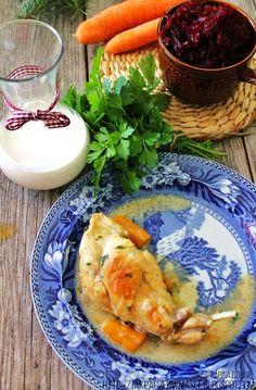 Jak pączek w maśle...blog kulinarny,smacznie,zdrowo,kolorowo!: Królik w sosie własnym - delikatne chude mięso