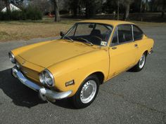 On the Verge: 1971 Fiat 850 Coupe - http://barnfinds.com/on-the-verge-1971-fiat-850-coupe/