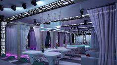 Jakarta, Indonesia: A pop-up bar named BLU t the Shangri-la Hotel. Poolside beds, DJ, lobster....