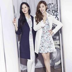 Seohyun and Tiffany