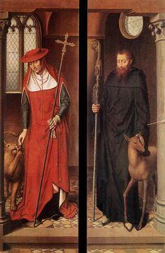 Passion (Greverade) Altarpiece-(closed) - Hans Memling