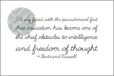 by Bertrand Russell with scallop medallion from puglypixel