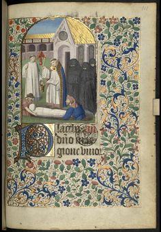 Heures à l'usage d'Evreux - ms 1780, Bibliothèque/Médiathèque, Bordeaux - 1399 - 1498 - f.111r