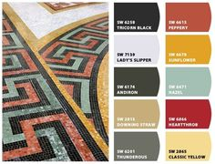 Chip It - Sherwin Williams - image from West Baden floor