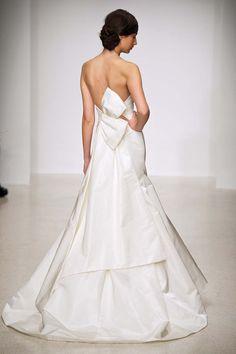 Amsale 'Camden' back - Spring 2013 @Belle Vie Bridal Couture www.belleviebridalcouture.com