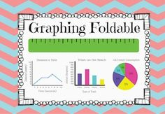 Includes: Foldable with line graph, bar graph, and circle graph.  Those are the graphs I have to address and use in our labs.  There is a black and white version and a colored version. There is also a blank versions (colored and black and white) to use if you want the kids to fill it in.