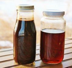 Making Simple Pancake Syrup