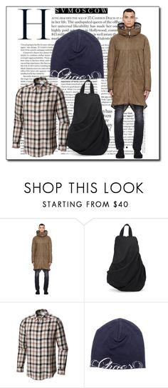 """Svmoscow II-5"" by azra-90 ❤ liked on Polyvore featuring Isaac Sellam, Yohji Yamamoto, Columbia, Undercover, men's fashion and menswear"