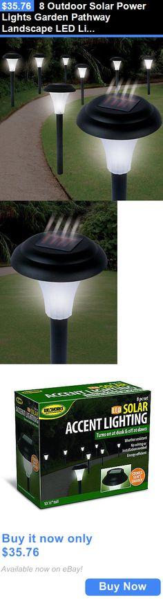 Farm Garden: 24 Outdoor Garden Stainless Steel LED Solar Path Landscape  Light Lamp NEW   BUY IT NOW ONLY $41.9 | Farm And Garden | Pinterest |  Jardines, ... Nice Design