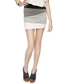 colorblock skirt $22.80