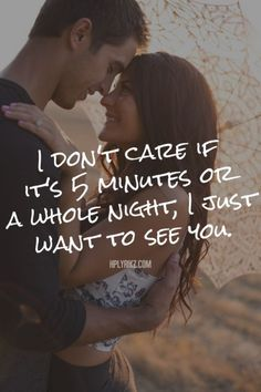 Well, yes, I CARE. I want it to be longer & I would LOVE a whole night one of these days, but thank God I don't have to wait much longer,soon you will be with me again. I'm grateful I get to see you almost every day! Lovers Quotes, Valentine's Day Quotes, Couple Quotes, Words Quotes, Sayings, Amor Quotes, See You Soon Quotes, Missing You Quotes, Quote Of The Day